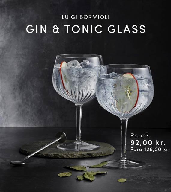 SPANSK GIN & TONIC GLAS - LUIGI BORMIOLI