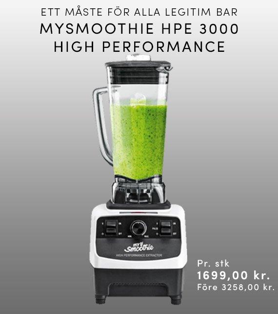 MYSMOOTHIE HPE3000 HIGH PERFORMANCE - HVID