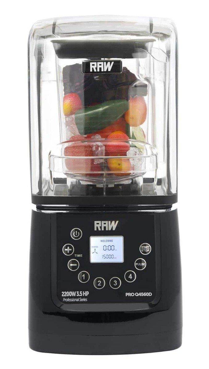 Raw Blender Q4560d 3,5hk 2,0l 2200w Touch Display Sort