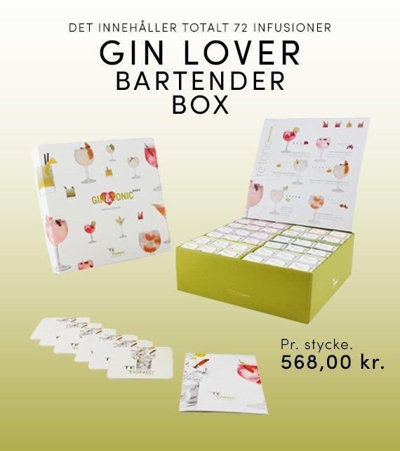 GIN LOVER BARTENDER BOX 72 STK.